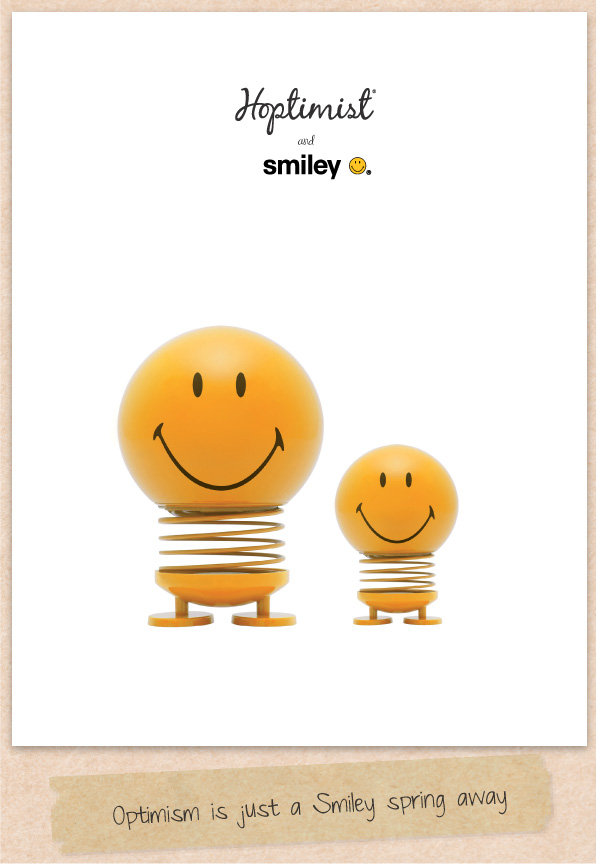 Smiley + Hoptimist design