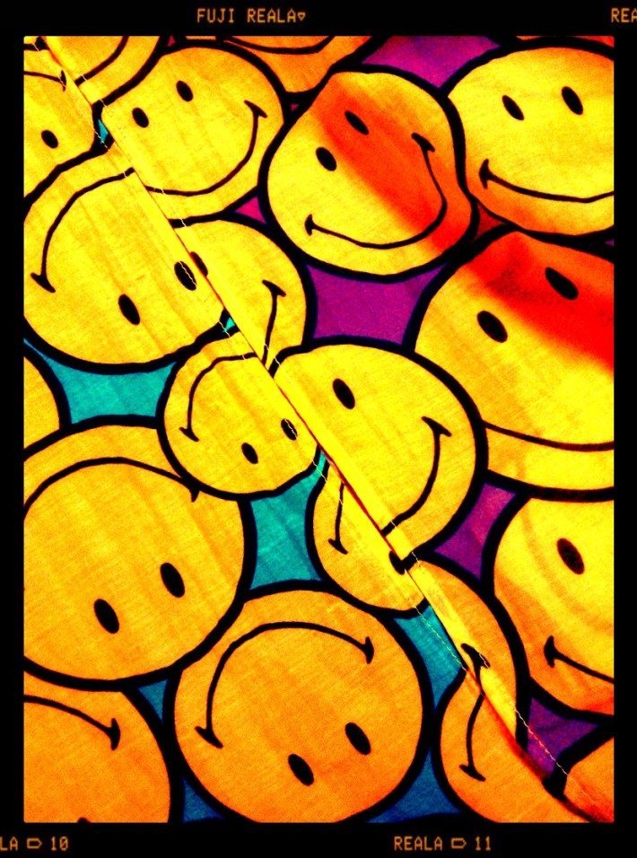 Instaphoto Smiley & Plomo o Plata colors seapunk inspiration