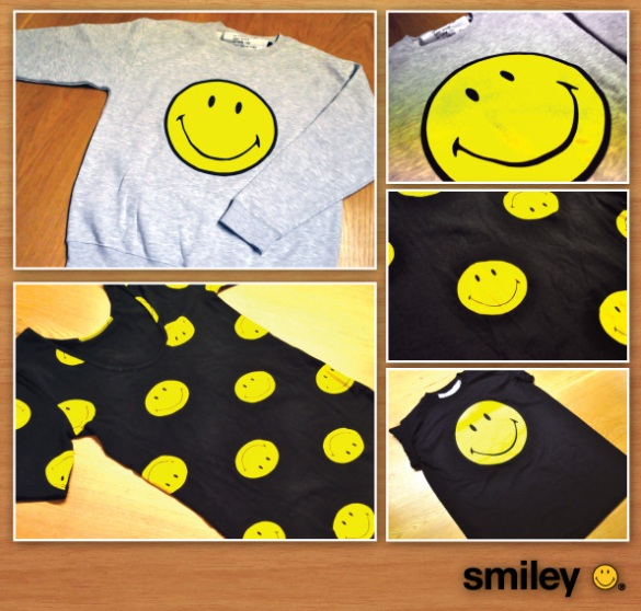 Smiley & TopShop Collection Out Now available at TopShop.com!
