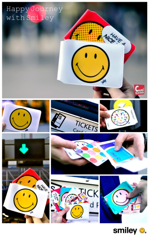 Buy online Smiley Card holder on Cardelicious.com | free shipping available in UK