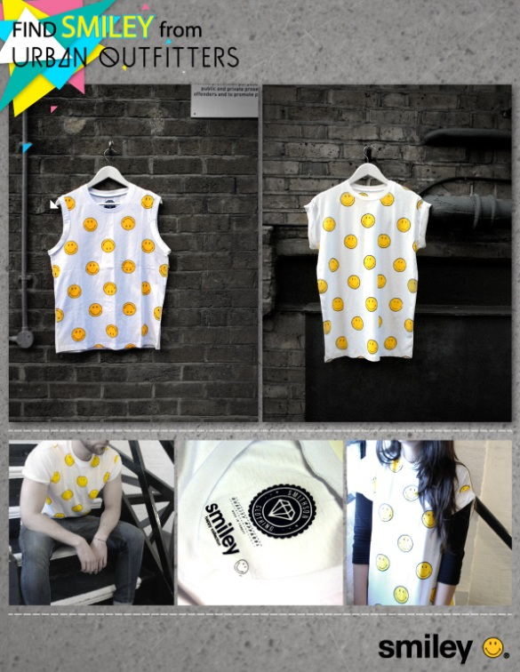 Smiley & Urban Outfitters Collection   Menswear, Womenswear London Clubber Style Vintage