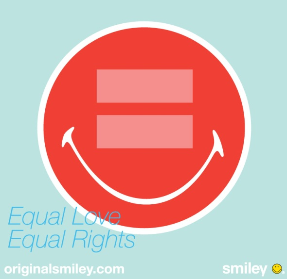 Smiley Supports Human Rights Campaign