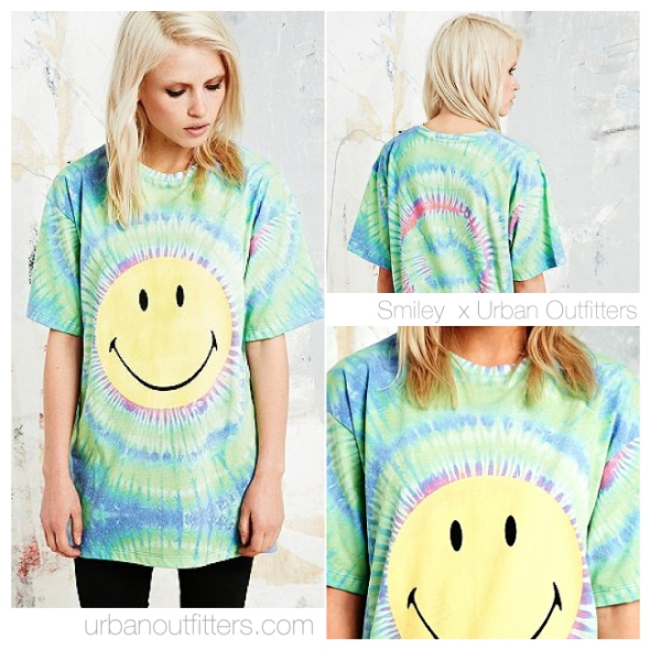 smiley-t-shirt-urban-outfitters