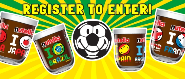 win nutella competition