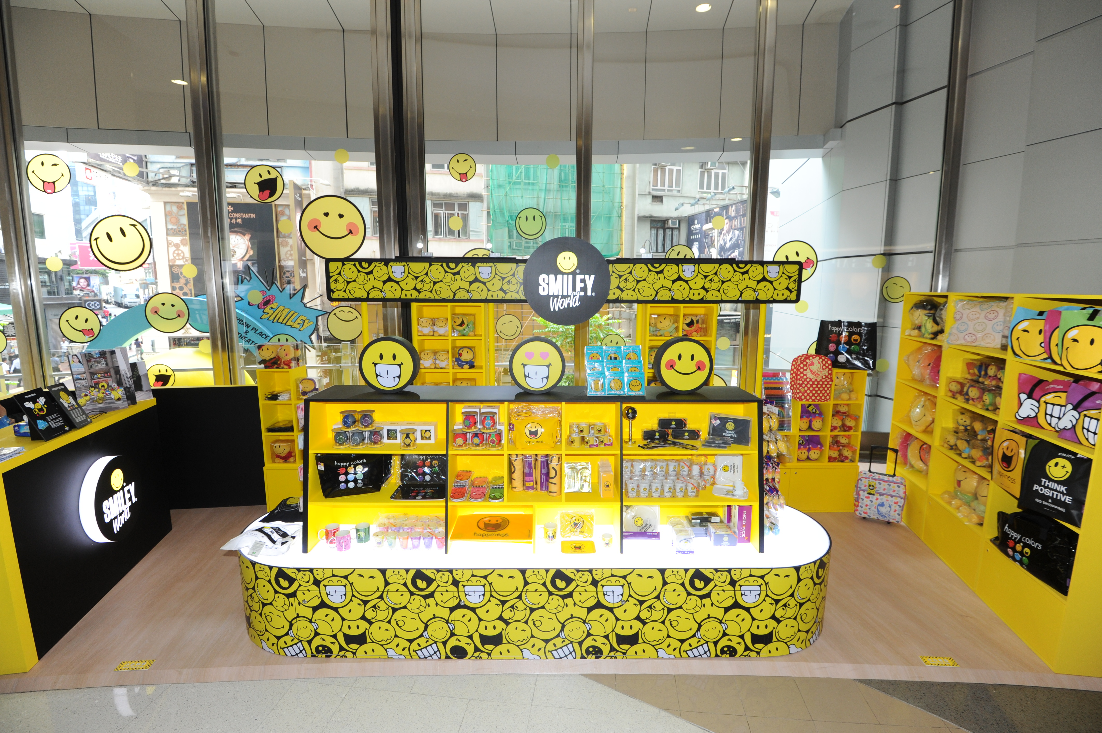 Smiley open pop up store in hong kong smiley blog for Online art stores us