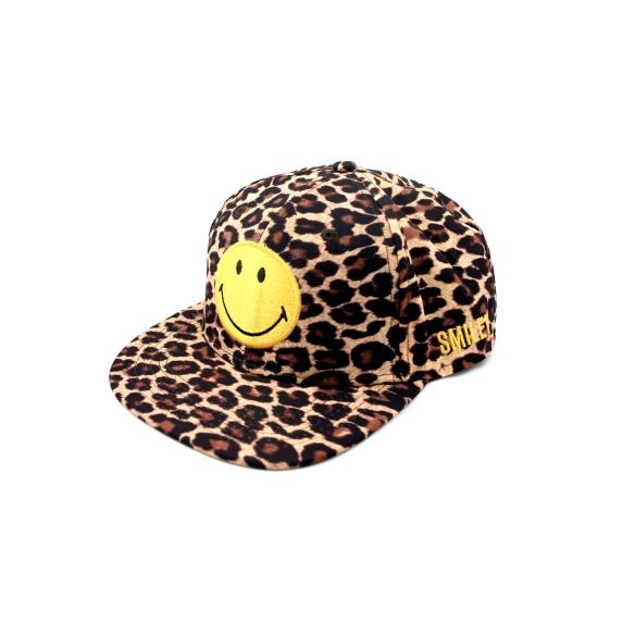 smiley_leopard_cap